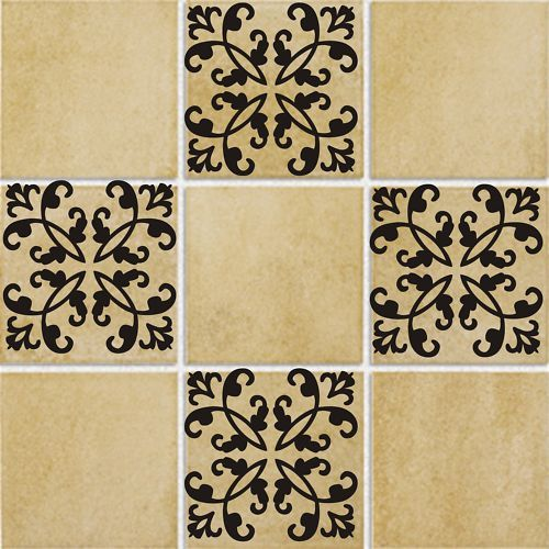 Tile tattoo d7 vinyl wall kitchen bathroom decal 4 for Bathroom tile stickers