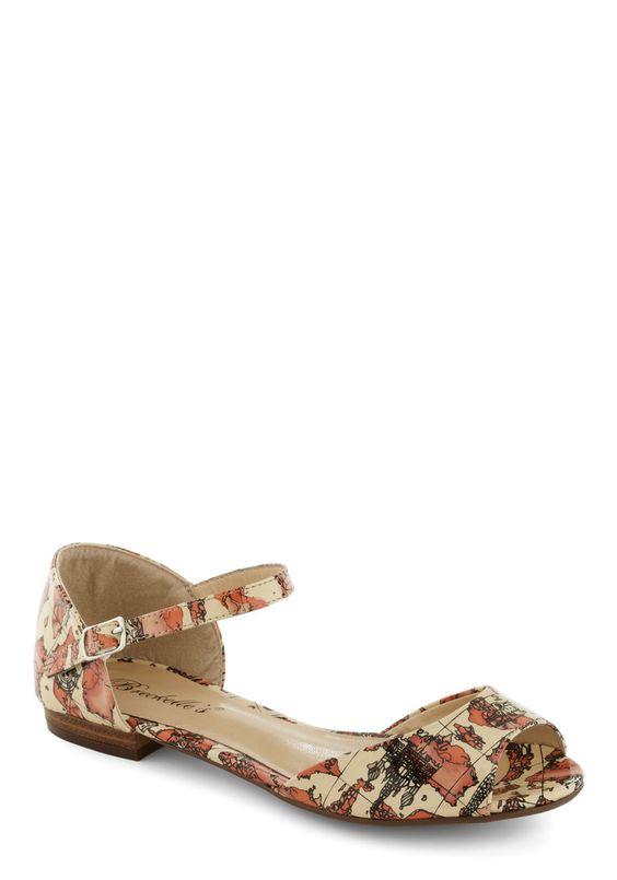 Worldly sandals!:
