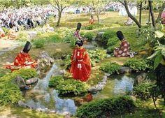京都観光Navi:曲水の宴April KYOTO