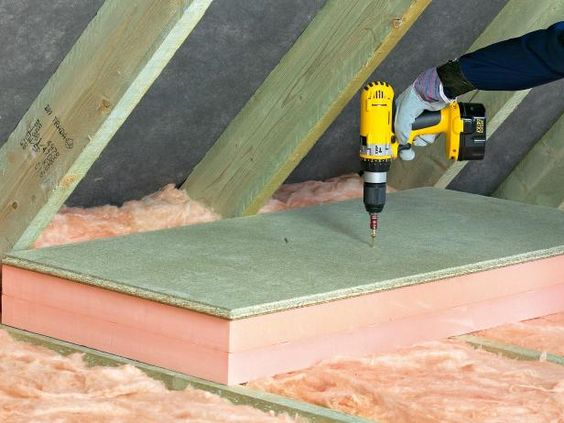 Insulating Attics and Roofs   how-tos   DIY