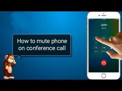 How To Mute Phone On Conference Call With Images Phone Phone