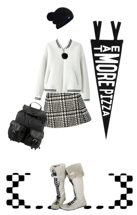 """""""Eat More Pizza"""" by elsiemarley22 ❤ liked on Polyvore featuring Jill Stuart, Three Potato Four, Keds, Tory Burch, Louis Vuitton, women's clothing, women, female, woman and misses"""