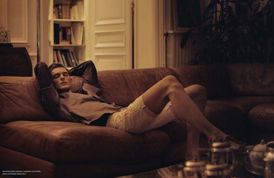 Nikola Jovanovic by Peter Gehrke for L'Officiel Hommes Germany