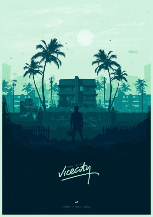 Welcome to Vice City - Michael Douglas