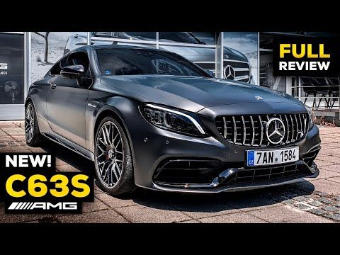 2020 Mercedes Amg C63 S Coupe New Facelift V8 Full Review Brutal