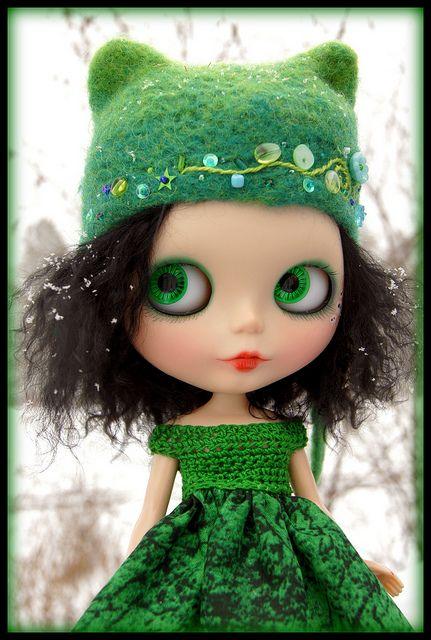 So pretty in green