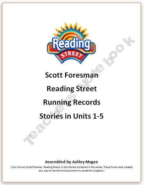 Scott Foresman Reading Street Fluency Passages First Grade