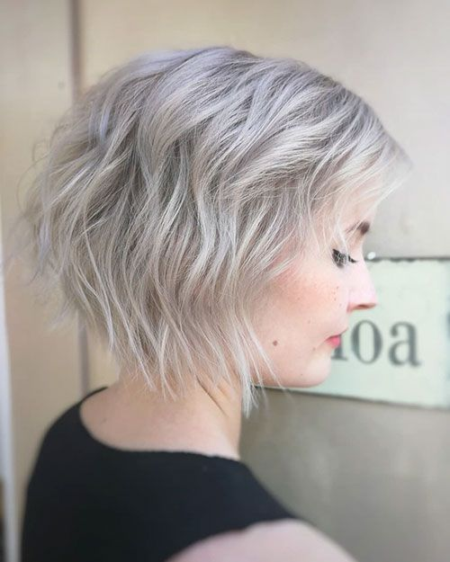 22 Short Messy Haircuts Messy Short Hair Short Hair Styles Thick Hair Styles