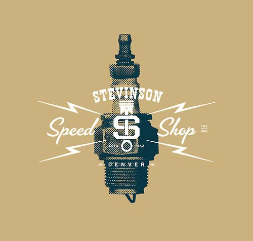 Identity for Stevinson Speed Shop.