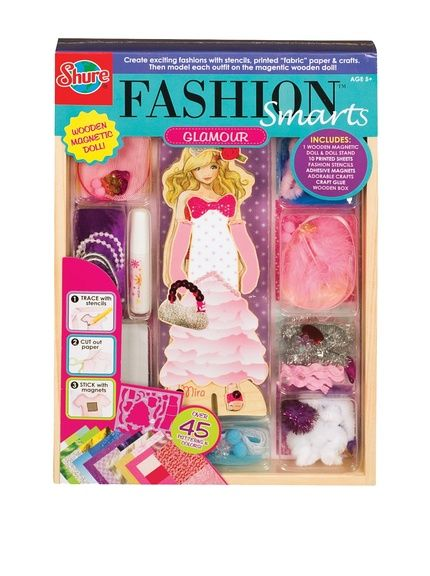 T.S. Shure Fashion-A-Belles Glamour Dress-Up Dolls