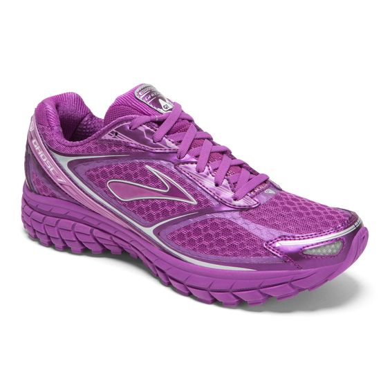 THEY'RE SO PURPLE! I WANT THEM. Brooks Ghost 7 Women's Neutral Running Shoes