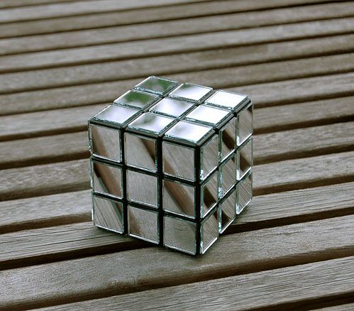 One Home Mirror And Rubiks Cube On Pinterest