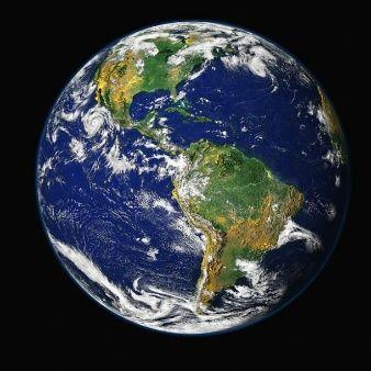 espacio globo planeta tierra mundo:
