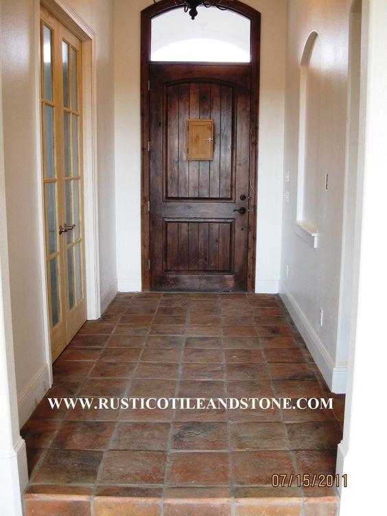 Details About Antique Terra Cotta Clay Tiles Mexican