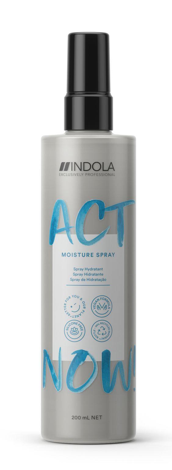 bote de Spray Hidratante Act Now Indola.