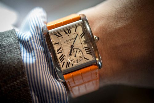 Sneak Peek: A Very Early Look At The Cartier Tank MC, The New Tank With Manfacture Movement