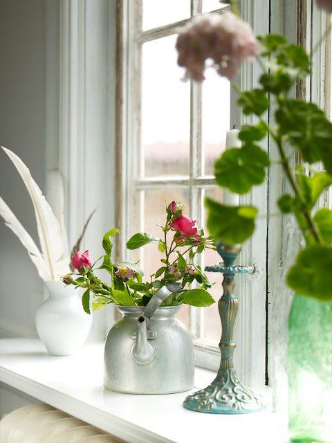 Casinha Bonitinha: Na janela