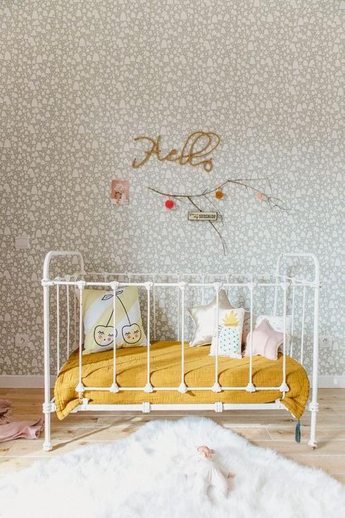 Rétro vintage chambre de bébé