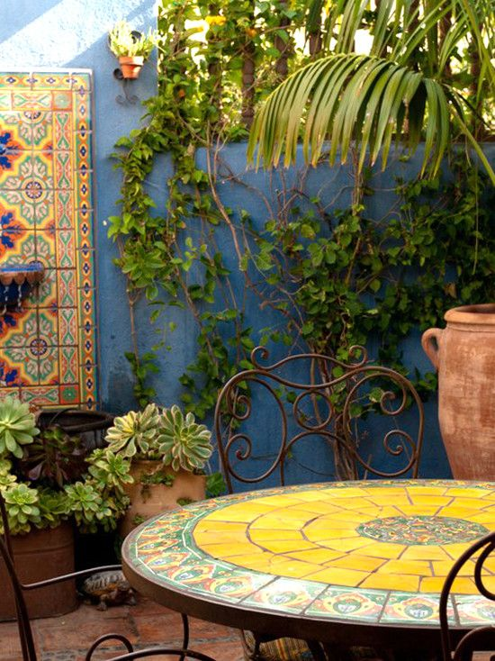 Mexican design pictures remodel decor and ideas page for Mexican porch designs