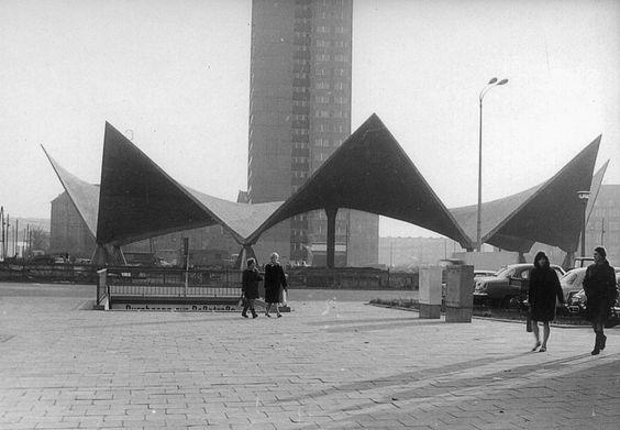 Ulrich Müther | Ahornblatt | Fischerinsel, Berlin, Germany | 1973