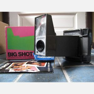 1970s Big Shot Polaroid Camera now featured on Fab.