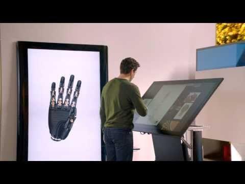 Microsoft nous montre sa vision du futur