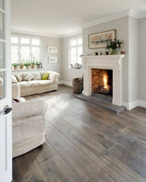 Rustic Greywash Large Boards Home House Styles New Homes