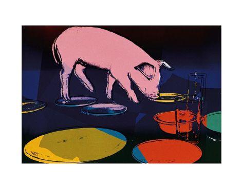 Fiesta Pig, c.1979 Print by Andy Warhol at Art.com