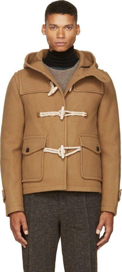 Camel Tan Wool Cashmere Duffle Coat | Coats Shops and Wool