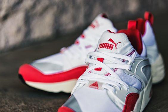 """PUMA Blaze of Glory """"White/Red"""" http://www.gotmysneakers.com/2015/05/puma-blaze-of-glory-whitered.html"""