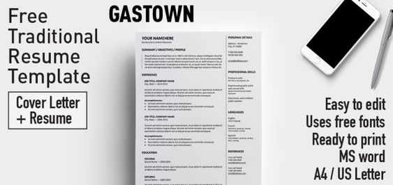 Traditional Resume Template My First Resume  Template For Kids In Ms Word Format  Resume