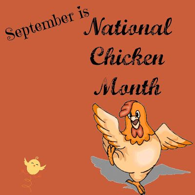 Julia's Simply Southern: National Chicken Month - September