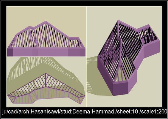Deema Hammadالرسم المعماري بالحاسوب/ computer architectural drawing: