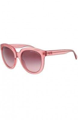 Óculos Armani Exchange Cats Eye Sunglasses Wild Thistle AX4003
