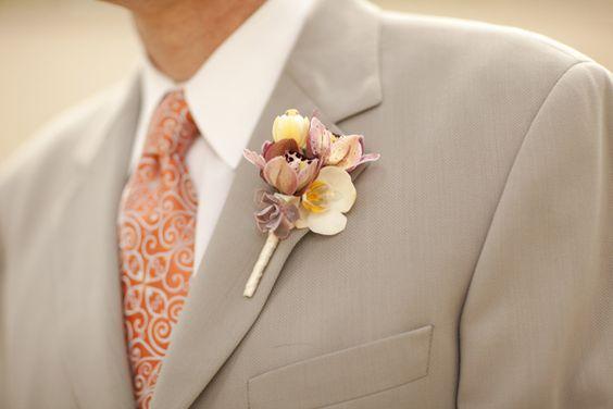 beige and brown wedding - photo #47