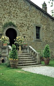 Giardino del Castello Orsini, Vasanello, Viterbo: