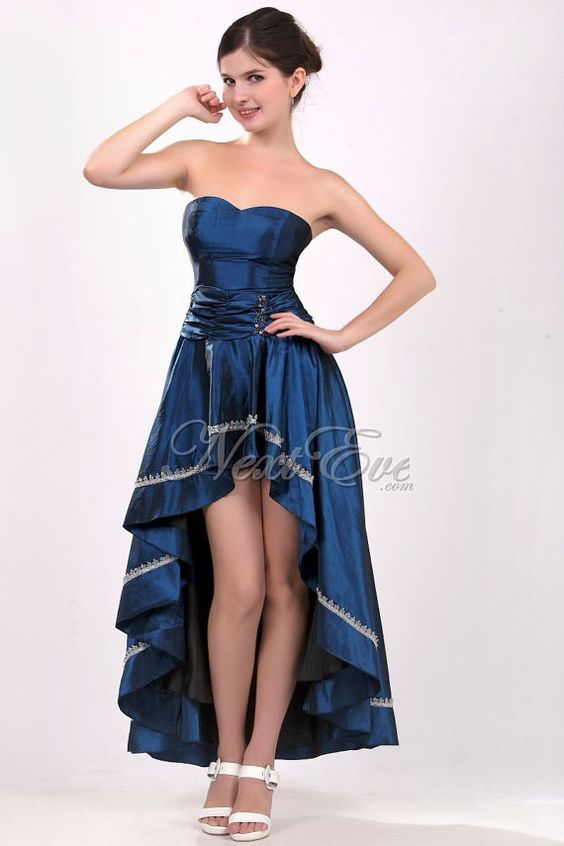 Sexy Sapphire Blue Semi Formal Cocktail Dress Prom Dress by livapo ...