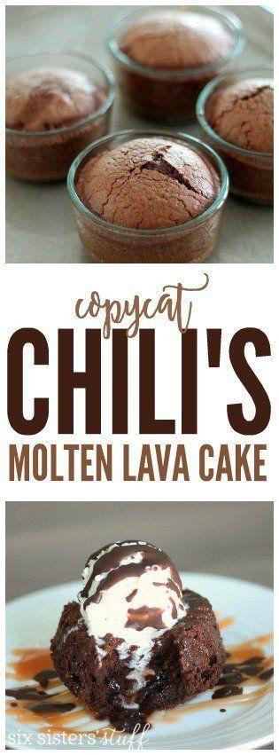 Copycat Chili's Molten Lava Cake