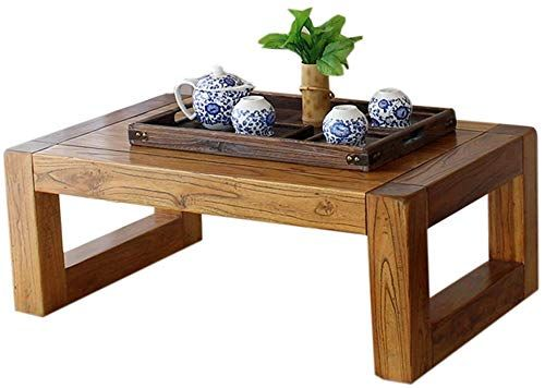 Enjoy Exclusive For Solid Wood Low Table Vintage Elm Tea Table