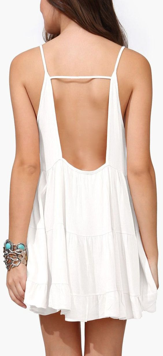 Backless Summer Dress //: