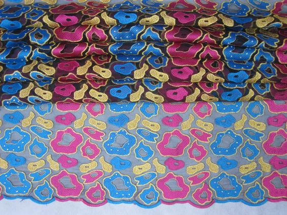 Cotton African French Lace-3