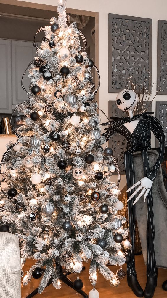 Celebrate With Over 50 Amazing Christmas Party Themes Nightmare Before Christmas Ornaments Christmas Decorations Xmas Christmas Decorations Xmas Trees