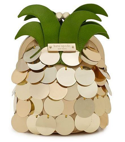 kate spade / pineapple clutch
