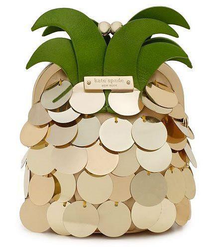 kate spade / pineapple clutch