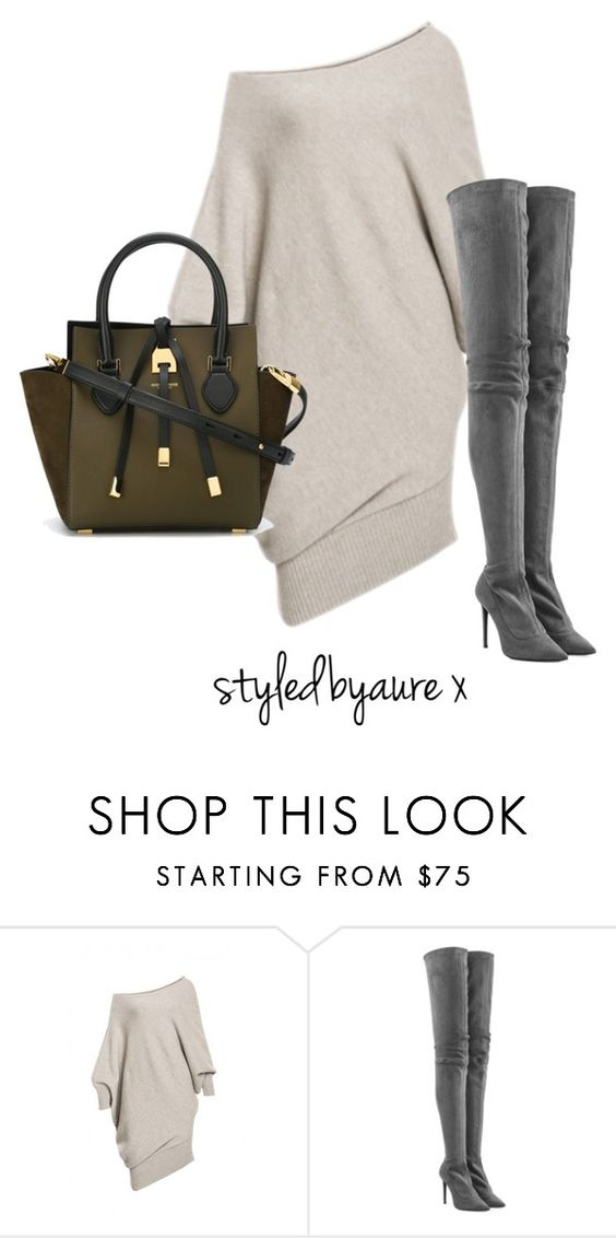 """Untitled #114"" by styledbyaure ❤ liked on Polyvore featuring Tamara Mellon and Michael Kors"