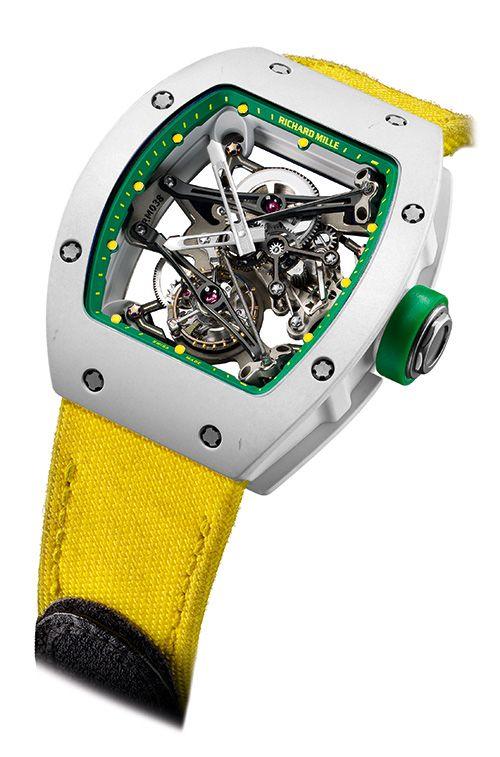 A unique piece for Only Watch 2013 Richard Mille the Tourbillon Prototype Yohan Blake (PR/Pics http://watchmobile7.com/data/News/2013/06/130615-richard_mille-OW-TOURBILLON_PROTOTYPE_YOHAN_BLAKE.html) (2/2) #watches