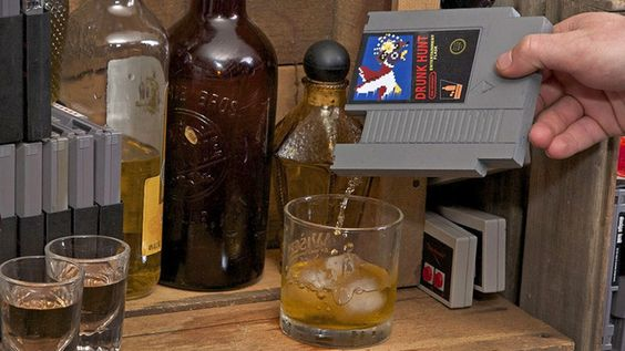 NES Cartridge Flasks Make Video Games Your Least Problematic Addiction