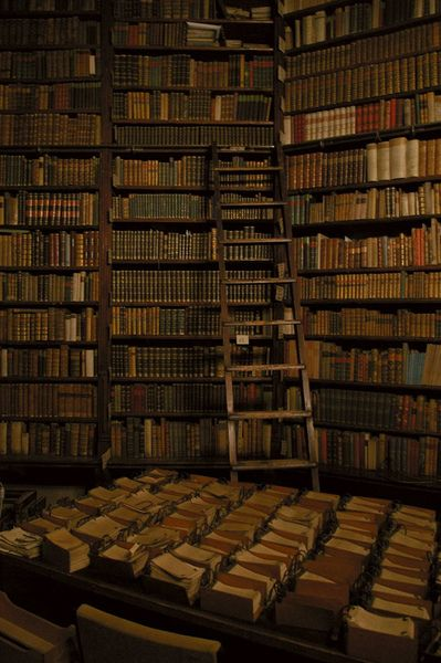 I'd like to be tucked away here with a good supply of tea, researching something fascinating.