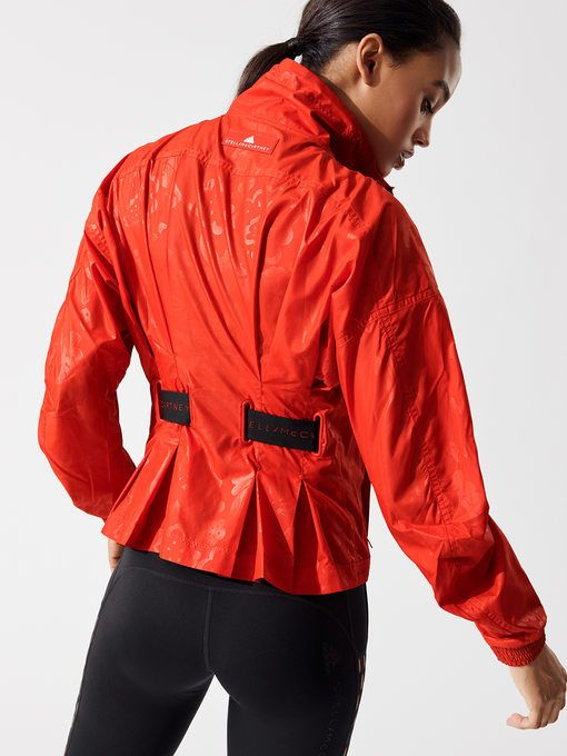 Run Wind Jacket in Core Red | Jackets, Wind jacket, Stella