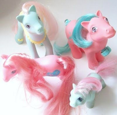 my little pony...loved these
